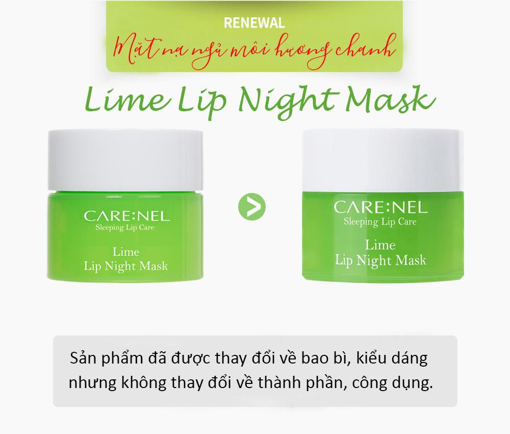 Mat Na Ngu Carenel Lime Lip Night Mask (1)