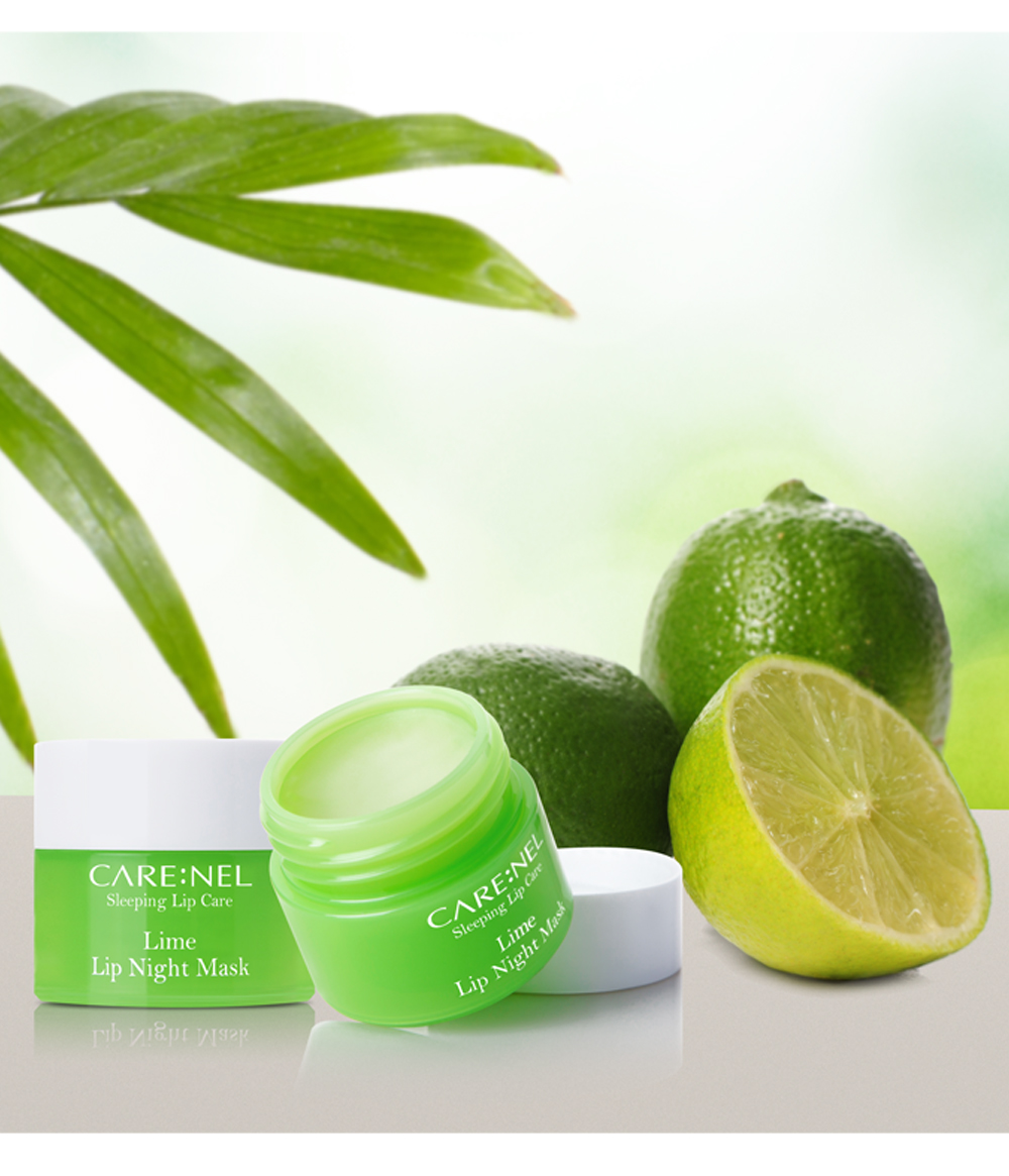 Mat Na Ngu Carenel Lime Lip Night Mask (5)