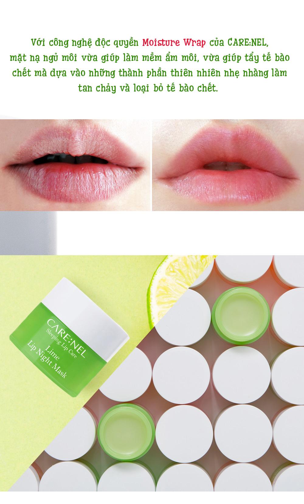 Mat Na Ngu Carenel Lime Lip Night Mask (6)