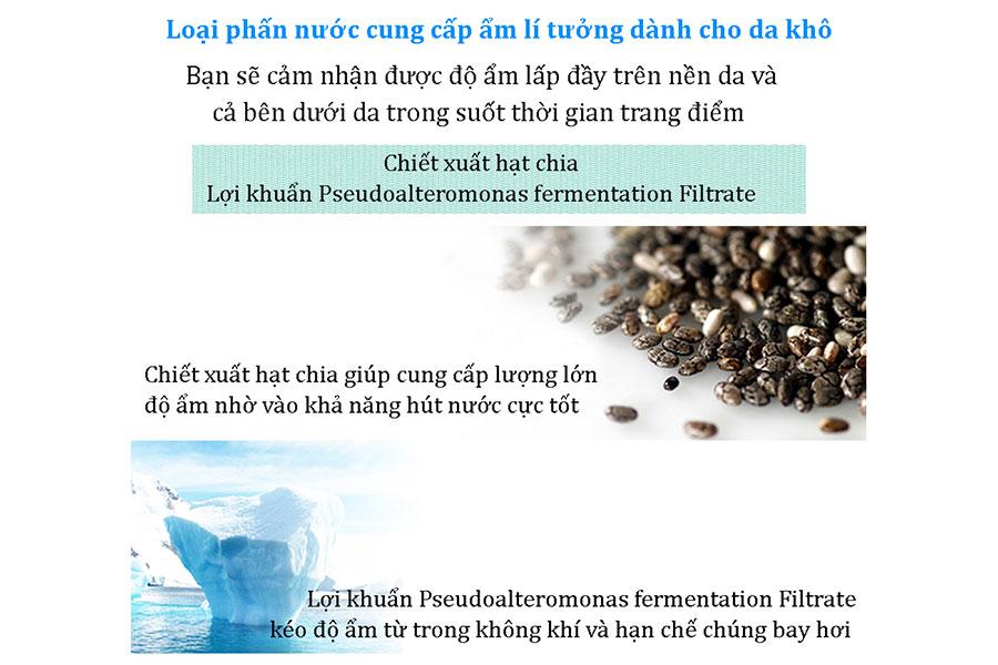 phấn nước Care:nel dành cho da khô