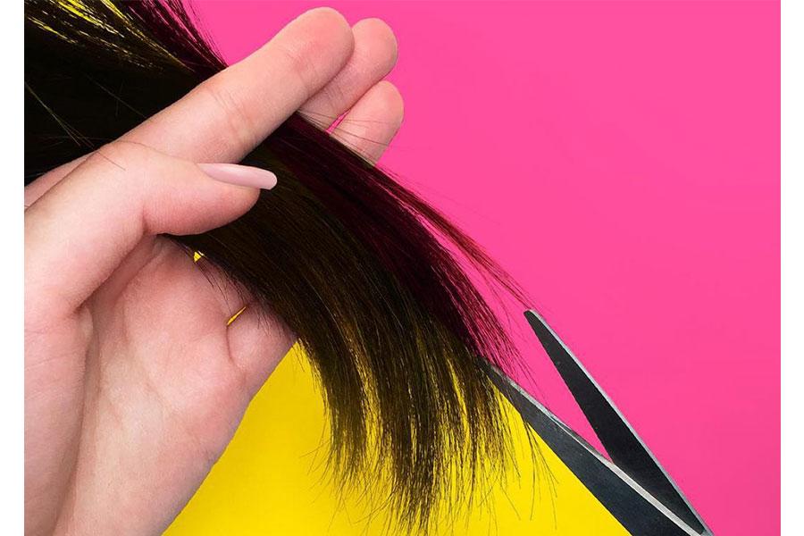 Cắt tỉa thường xuyên nếu tóc bị hư hỏng