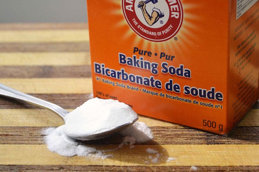 Mặt nạ cho tóc khô rối từ Baking Soda