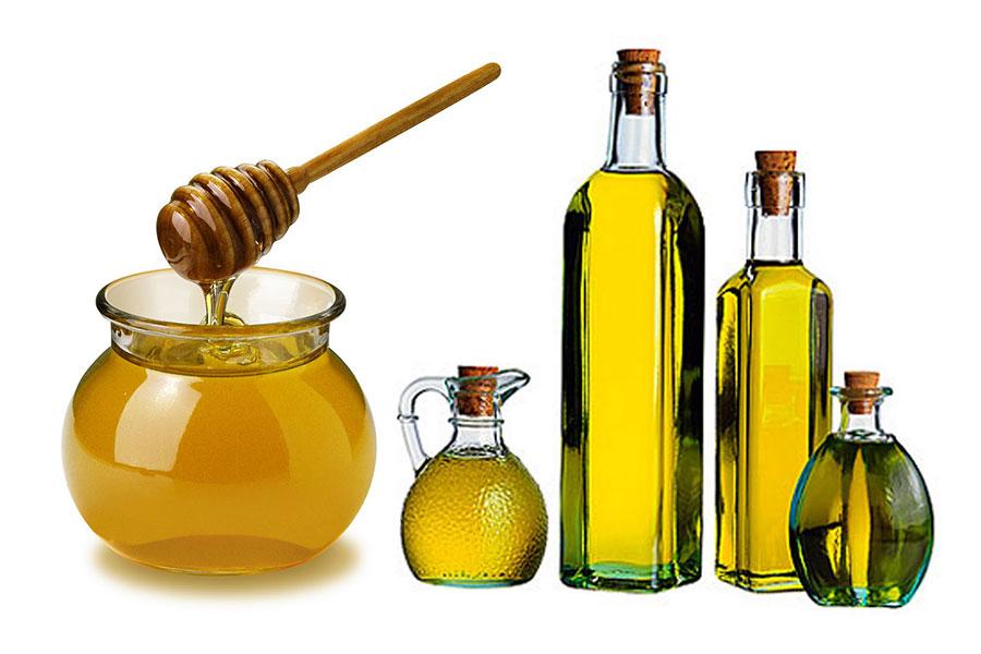 Công thức giúp tóc bóng mượt từ mật ong và dầu olive