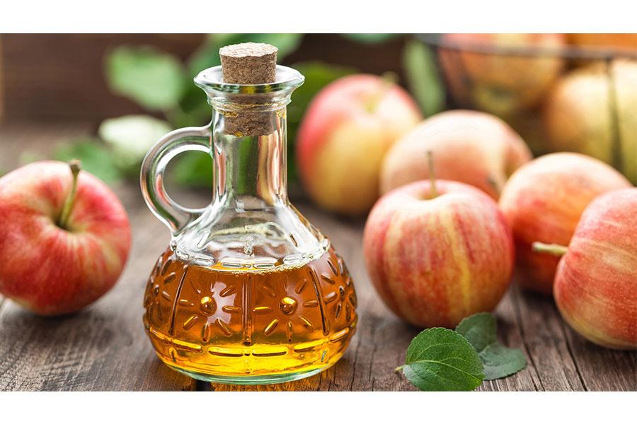 Mặt nạ ngăn ngừa tóc bết từ dấm táo