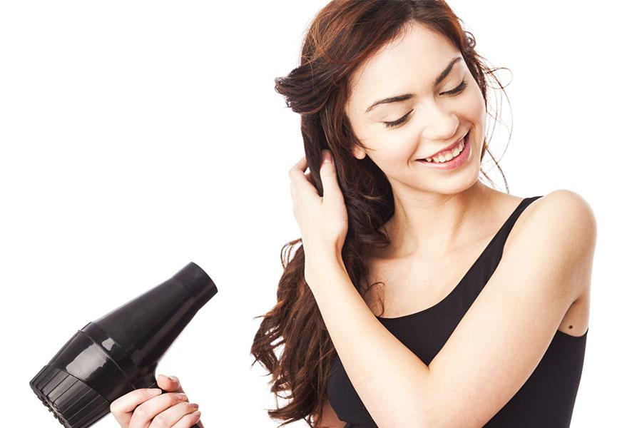 Sấy khô tóc từ xa