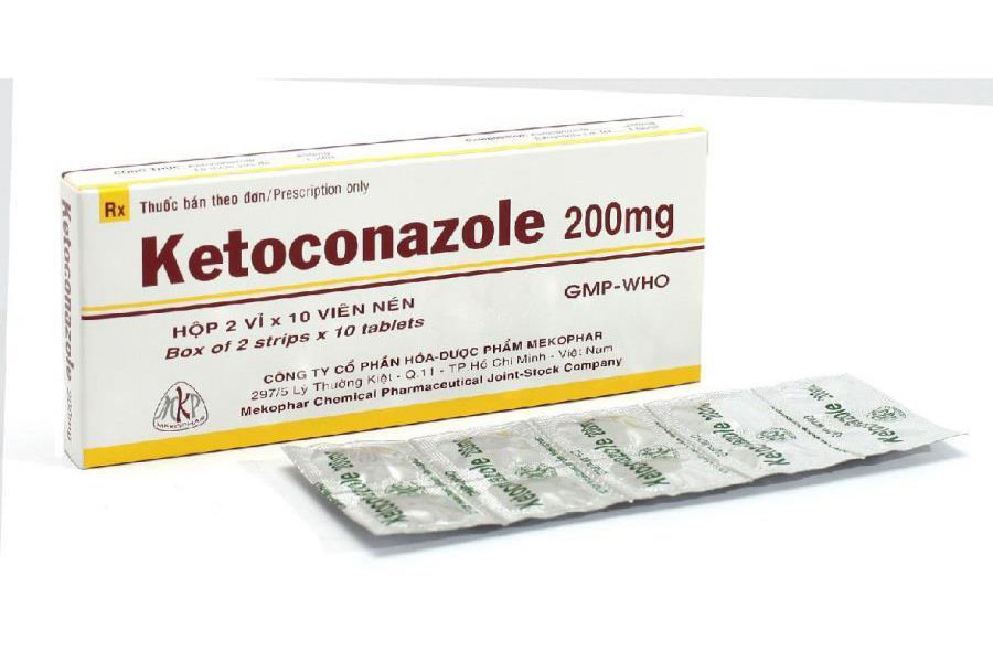 Ketoconazole Tiêu Diệt Nấm Gây Gàu