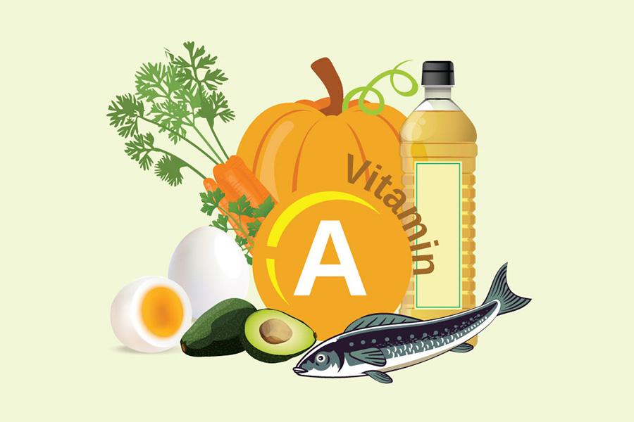 Vitamin A tăng cường chức năng các mô bảo vệ da
