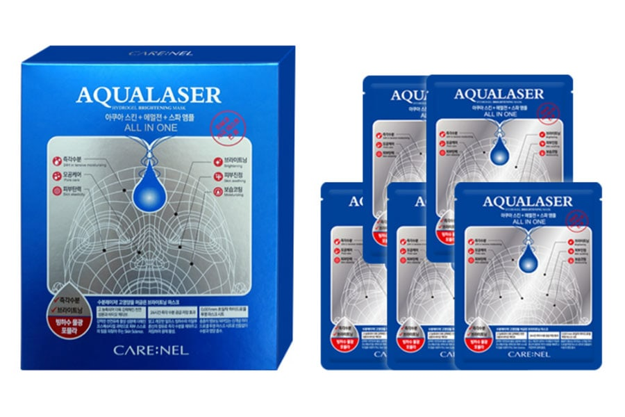 Mặt Nạ Thạch Aqualaser Hydrogel Brightening Mask