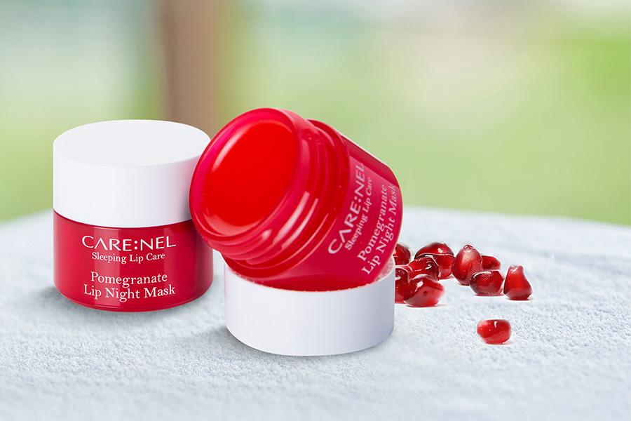 Mat Na Ngu Moi Huong Luu Carenel Pomegranate Lip Night Mask 7